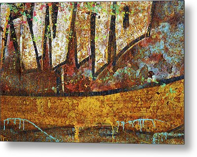 Rust Colors Metal Print by Carlos Caetano