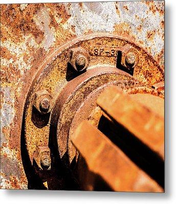 Rust Metal Print by Onyonet  Photo Studios