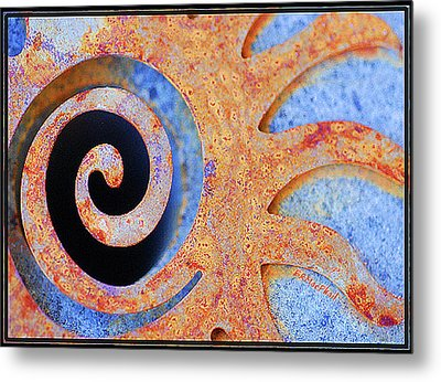 Metal Print featuring the photograph Rusted by Barbara MacPhail