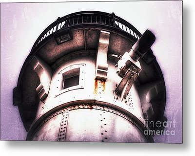 Metal Print featuring the photograph Rusted Beacon by Mark David Zahn