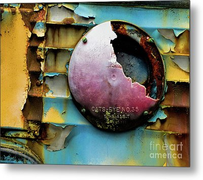 Rusted Series 3 Metal Print by Laura Atkinson