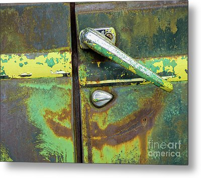 Rusted Series 4 Metal Print by Laura Atkinson