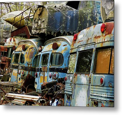 Rusted Series Metal Print by Laura Atkinson