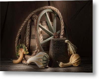 Rustic Still Life Metal Print by Tom Mc Nemar