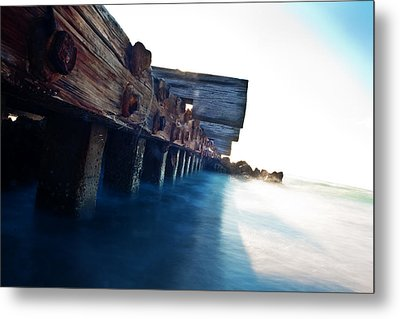 Rusty But Not Broken Metal Print