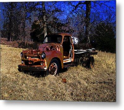 Rusty Truck Metal Print