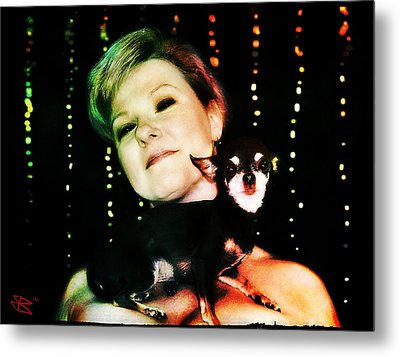 Ryli And Chi-chi 2 Metal Print by Mark Baranowski
