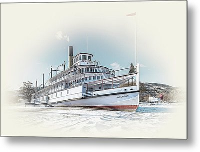 Metal Print featuring the photograph S. S. Sicamous II by John Poon