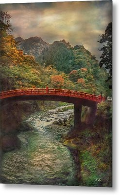 Metal Print featuring the photograph Sacred Bridge by Hanny Heim