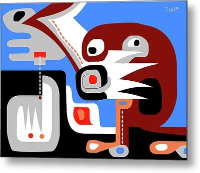 Sacred Cenote Metal Print by Victor  M Trejo