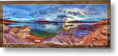 Sacred Rising Metal Print by ABeautifulSky Photography
