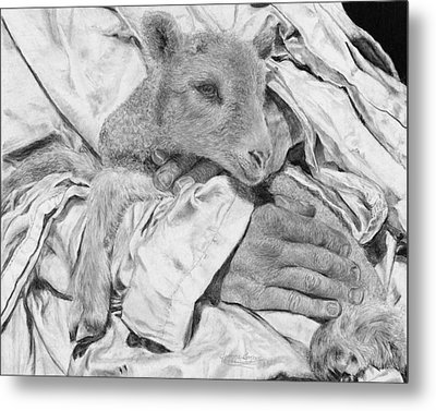 Safe Metal Print by Jyvonne Inman