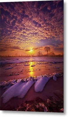 Metal Print featuring the photograph Safely Secluded In A Far Away Land by Phil Koch