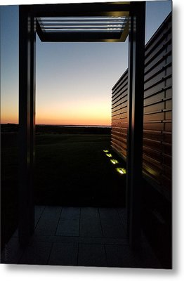 Metal Print featuring the photograph Sag Harbor Sunset 2 by Rob Hans