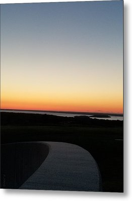 Metal Print featuring the photograph Sag Harbor Sunset 3 by Rob Hans