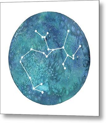 Sagittarius  Metal Print by Stephie Jones