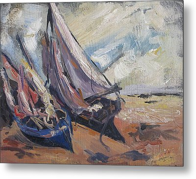 Sail Boats Metal Print by Debora Cardaci