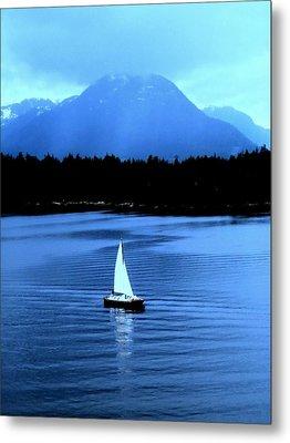 Sailboat 1 Metal Print by Randall Weidner