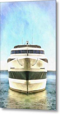 Sailing The Seven Seas Metal Print by Edward Fielding