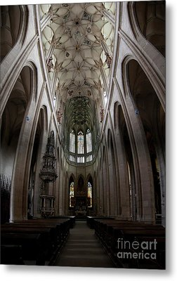 Saint Barbara's Church, Kutna Hora Metal Print