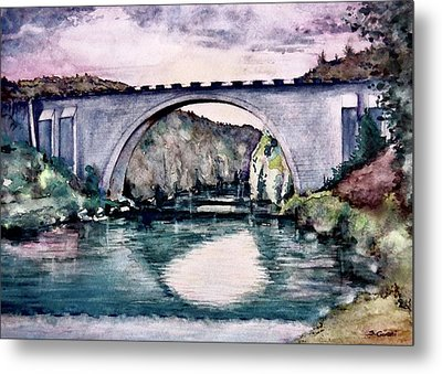 Saint Bridge Metal Print