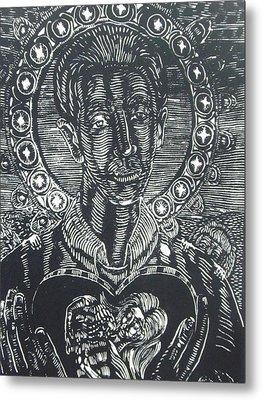 Saint Gerard Majella Metal Print
