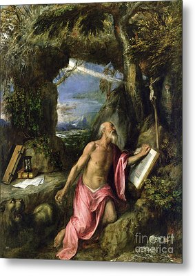 Saint Jerome Metal Print