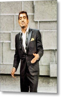 Sammy Davis Jr., Hollywood Legend By John Springfield Metal Print