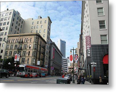San Francisco - Jessie Street View Metal Print