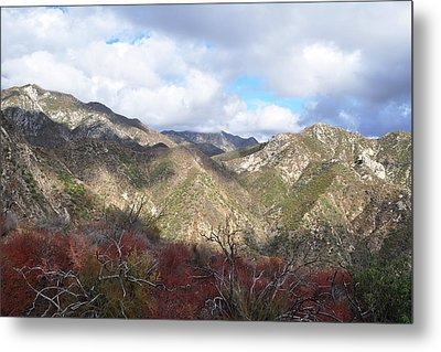 San Gabriel Mountains National Monument Metal Print by Kyle Hanson