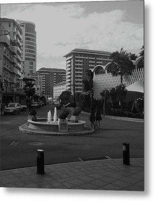 San Juan Fountain II Metal Print
