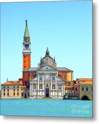 San Giorgio Maggiore, Venice Metal Print