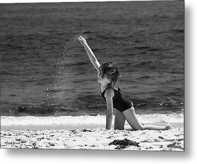 Sand Dancer Metal Print by Michelle Wiarda