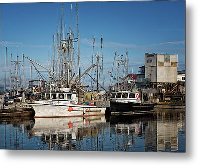 Metal Print featuring the photograph Sandra M And Lasqueti Dawn by Randy Hall