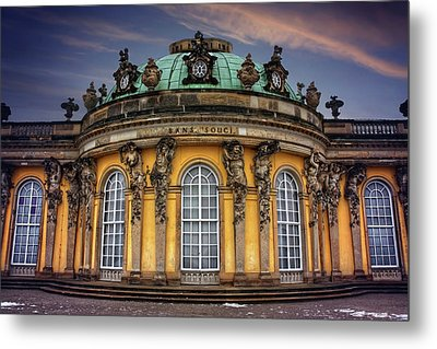 Metal Print featuring the photograph Sanssouci Palace In Potsdam Germany  by Carol Japp