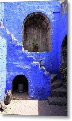 Santa Catalina Monastery, Arequipa, Peru Metal Print by Aidan Moran