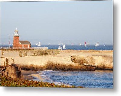 Santa Cruz Lighthouse Metal Print by Paul Topp
