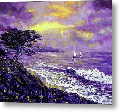Santa Cruz Rhapsody Metal Print by Laura Iverson