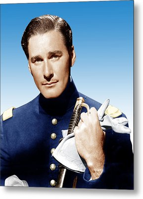 Santa Fe Trail, Errol Flynn, 1940 Metal Print by Everett