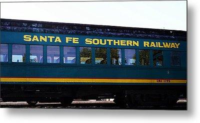 Santa Fe Train Metal Print