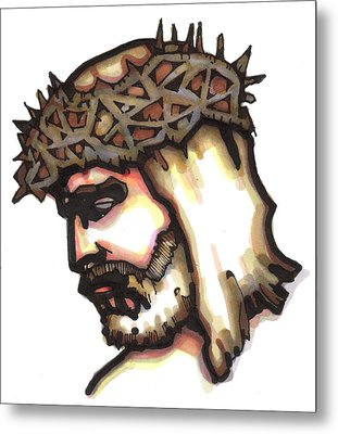 Saviour No 6 Metal Print by Edward Ruth