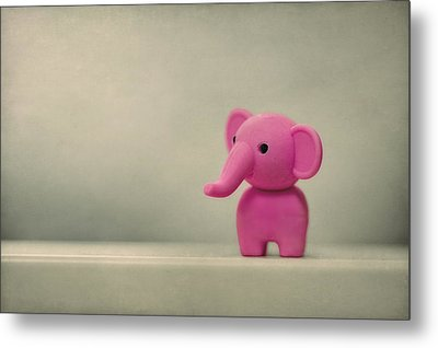 Say Hello To My Little Friend Metal Print by Evelina Kremsdorf