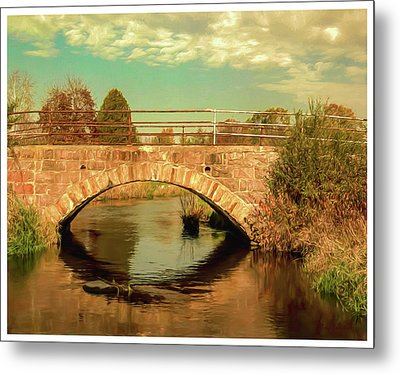 Scandinavia Stone Bridge 1 Metal Print by Trey Foerster