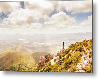 Scenic View Of Mt Zeehan, Tasmania, Australia Metal Print by Jorgo Photography - Wall Art Gallery