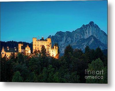 Metal Print featuring the photograph Schloss Hohenschwangau by Brian Jannsen