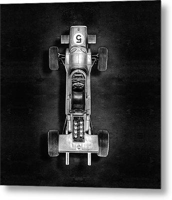 Schuco Matra Ford Top Bw Metal Print by YoPedro