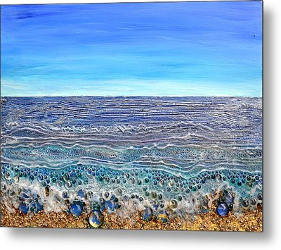 Scintillated Seascape Metal Print