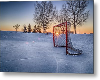 Metal Print featuring the photograph Scoring The Sunset 3 by Darcy Michaelchuk
