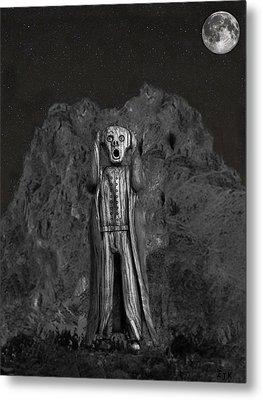 Scream Rock Metal Print by Eric Kempson