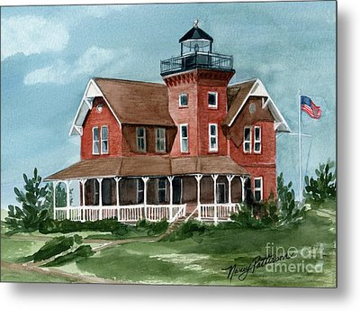 Sea Girt Lighthouse Metal Print